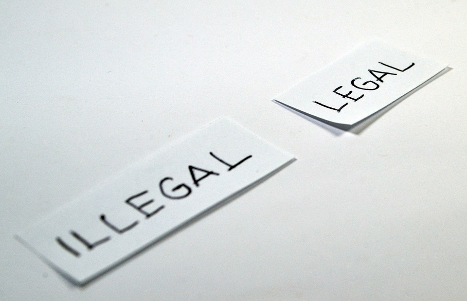 There's a fine line between legal and illegal in workplace laws.